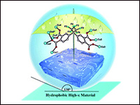 Highly hydrophobic metal–organic framework for s...